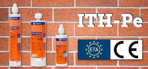 ITH-Pe mit ETA-Zulassung auch für Mauerwerk!